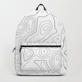 Topographic Map 03D Backpack