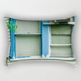Window Geometry Rectangular Pillow