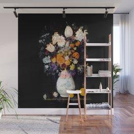 Blompotje Wall Mural