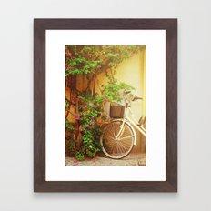 Spring Bike Ride Framed Art Print