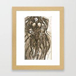 Sky dark Android Mk3 Framed Art Print