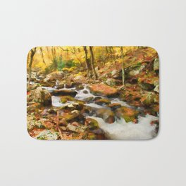 Gold Rush Bath Mat