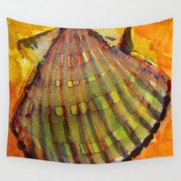 Scallop Shell Wall Tapestry