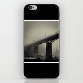 Bridge in the Mist iPhone Skin