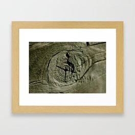 Nothing but wood! Framed Art Print