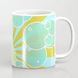 Aqua bubbly art Coffee Mug
