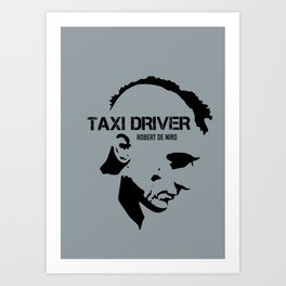Taxi Driver - Alternative Movie Poster Art Print