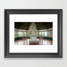 Flight from Pompeii Framed Art Print