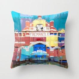 Fremantle Markets Throw Pillow