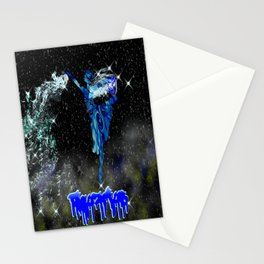 Aquarius Astrology Sign Stationery Cards
