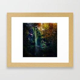 Mallyan Spout Waterfall Framed Art Print