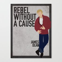 Rebel Without A Cause  Canvas Print