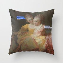 Blink-182 Throw Pillow
