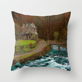 A Secluded View Throw Pillow