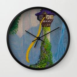 Rapunzel's Tower Wall Clock