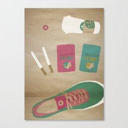 culture illustration Canvas Print