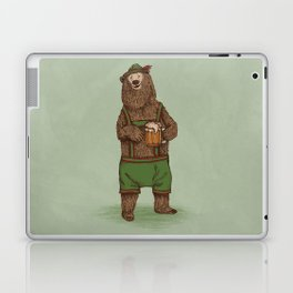 Traditional German Bear Laptop & iPad Skin