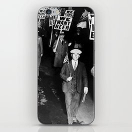We Want Beer Prohibition iPhone Skin