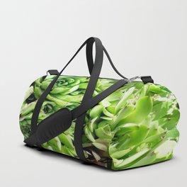 GREEN HENS N' CHICKS SEDUMS-SUCCULENTS Duffle Bag