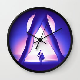 Moonlight Session Wall Clock