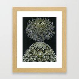 Ajnatic Blossom Framed Art Print