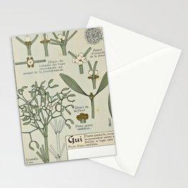 Maurice Pillard Verneuil - Étude de la plante (1903): Common Mistletoe Stationery Cards