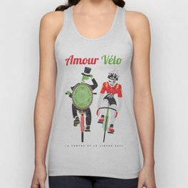 Bike Love Unisex Tank Top