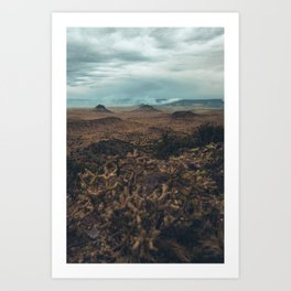 Cabazon Peak II Art Print