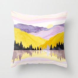 Spring Lake Throw Pillow