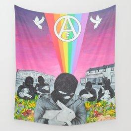 Animal Rights Activist Wall Tapestry