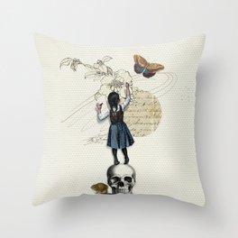 LittleWriter Throw Pillow