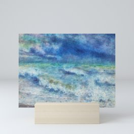 Colorful sea Mini Art Print