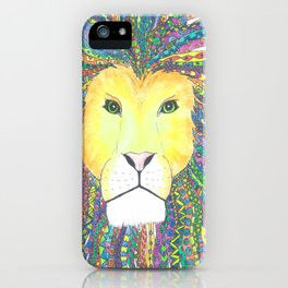 Lovely Lion iPhone Case
