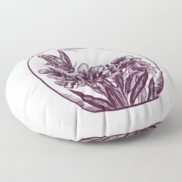 Oleander Potion Floor Pillow