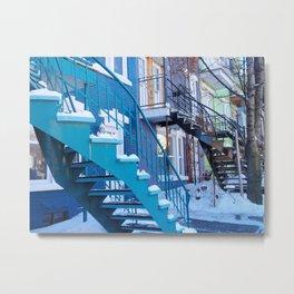 Montreal Local Color Metal Print