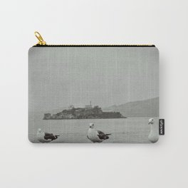 The opposites: Alcatraz and the freedom of seagulls Carry-All Pouch
