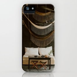 Mystical coffee spot in Mexico iPhone Case