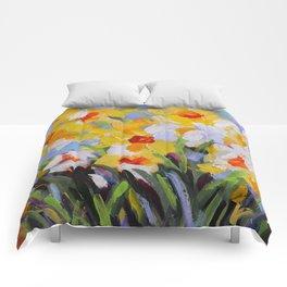 Daffodil Tangle Comforters