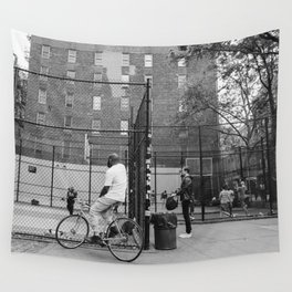 New York Basketball III Wall Tapestry