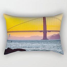 Golden Gate Bridge, San Francisco #decor #society6 #buyart Rectangular Pillow
