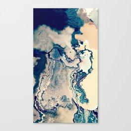 ~ Desert and Island Canvas Print