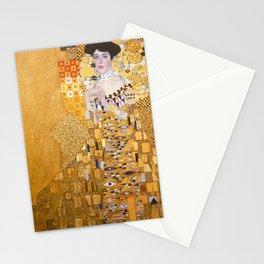 Gustav Klimt - Portrait of Adelle Bloch Bauer Stationery Cards