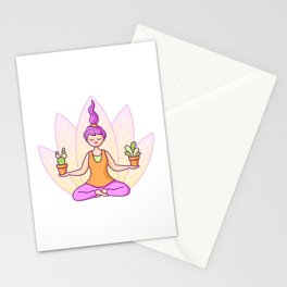 Plant Yogi Stationery Cards