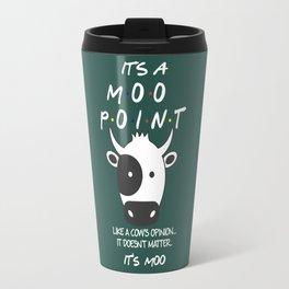It's a Moo Point - Friends TV Show Travel Mug