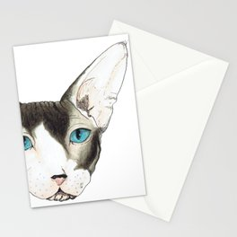 Hairless Cat Stationery Cards