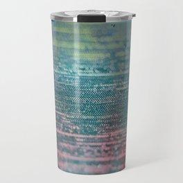 Aurora - Abstract Landscape Pastel Travel Mug