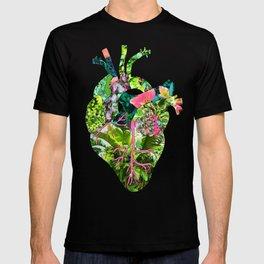 Botanical Heart Mint T-shirt