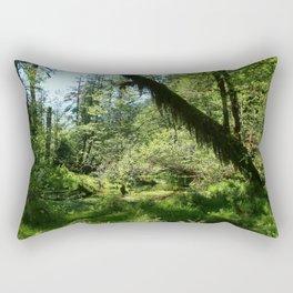 Hoh Rainforest Tones Rectangular Pillow