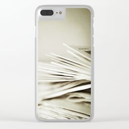 Yesterday's News Clear iPhone Case