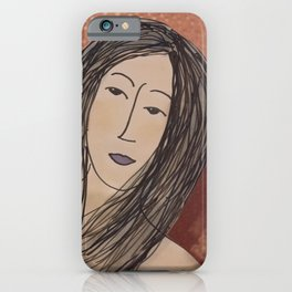 Ally at the Club iPhone Case